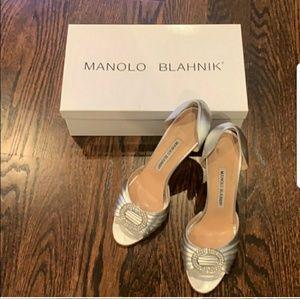 """Manolo Blahnik, """"the Carrie Shoe"""